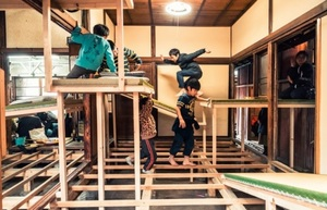 《障害の家》プロジェクト(2017)、千住たこテラス Photo:Takahiro Tsushima